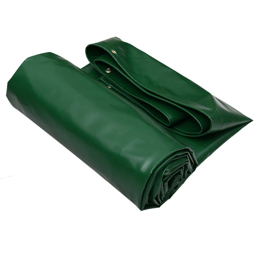 WFYB Lona de Lona impermeabilizada Verde Lonas al Aire / Libre, 650G / Aire m², Espesor 0.7MM, tamaño 6 Disponible 340fe0