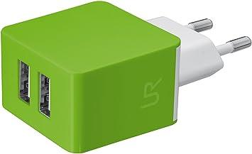 Trust Urban - Cargador de pared doble USB universal de 10W para ...