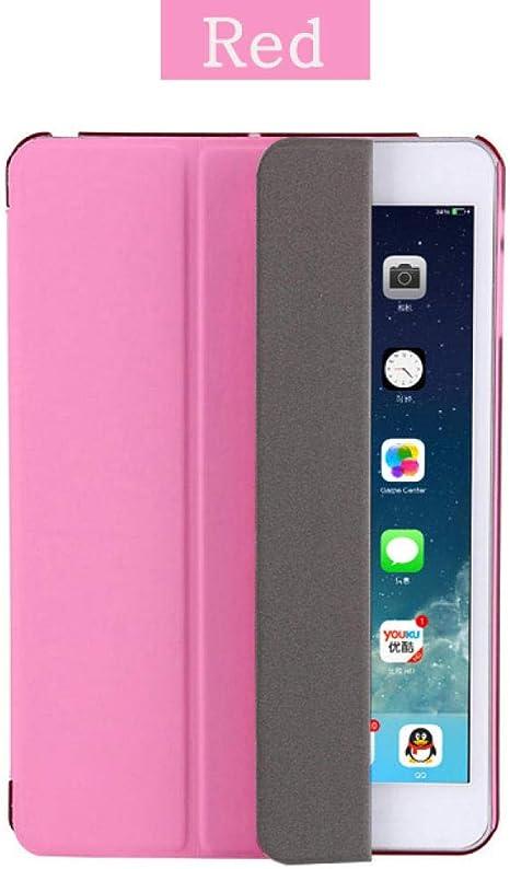 Estuche para iPad 2/3/4 A1460 Estuche de Silicona con Respaldo Suave en Folio con Reposo automático/Despertador PU Funda Inteligente de Cuero para iPad 3 4 2 Estuche-para iPad 2 3 4: Amazon.es: Informática