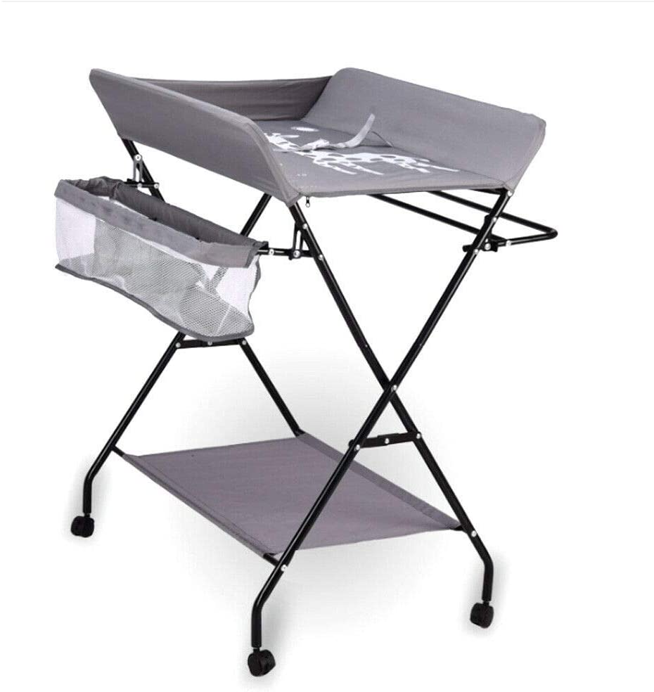 - Foldable Baby Changing Table Breathable Oxford Fabric Aby Changing