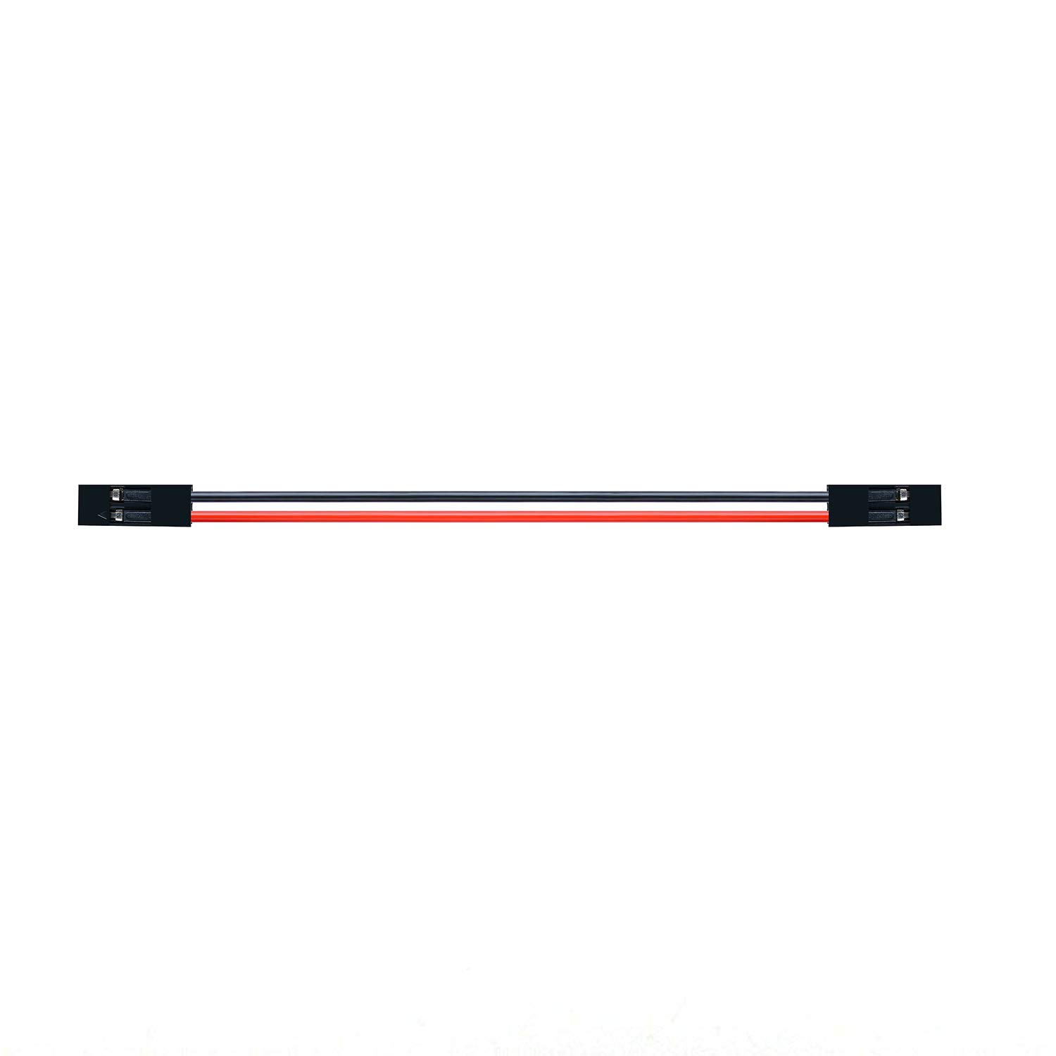 CQRobot Jumper Wire 2-pin 2.54-Pitch 200mm, Dupont Line, Adapter Cable, Connector of 2-pin Dual-Female, Pitch of 2.54mm, Length of 200mm.