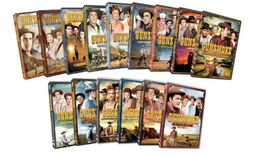 Gunsmoke: Seasons 1-8 by Paramount