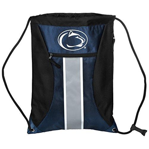 Penn State Big Stripe Zipper Drawstring Backpack