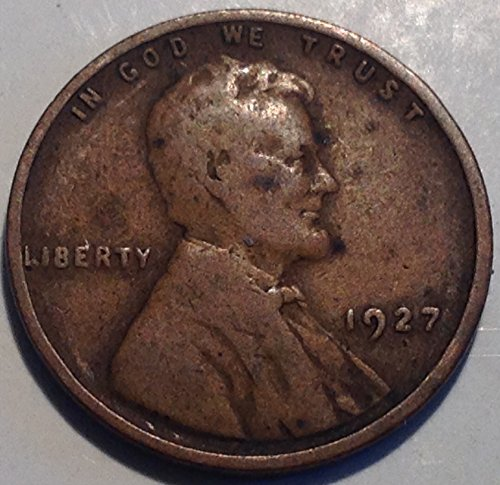 1927 Lincoln Wheat Cent Penny Fine