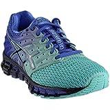 ASICS Women's Gel-Quantum 180 2 Running Shoe, Aruba Blue/Blue Print/Primrose Purple, 6.5 M US