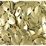 Scalemail Armor Scales - Anodized Aluminum (Medium, Gold)