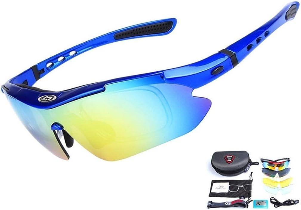 Baselay Polarized Sports Sunglasses Sun Glasses UV400 for Men Cycling Goggles