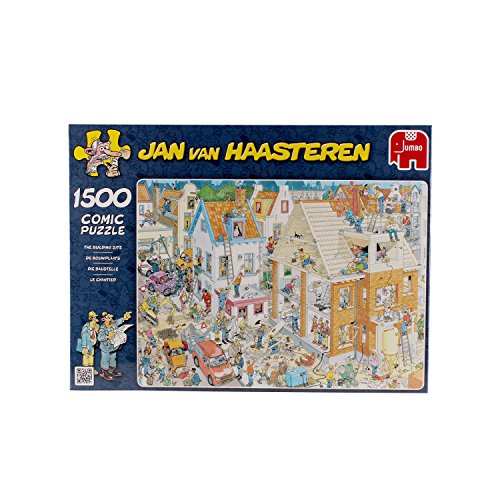 Jan van Haasteren Building Site Jigsaw Puzzle (1500 Pieces)