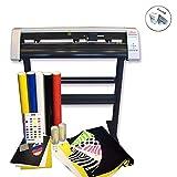 Eight24hours 31'' Vinyl Cutter Machine w/Software Vinly Sign Plotter Great Starter Bundle Kit