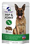 Vital Planet - Hip and Joint Soft Chews for Dogs - Natural Support for Hip and Joint Health in Dogs - 30 Chicken Flavored Chews