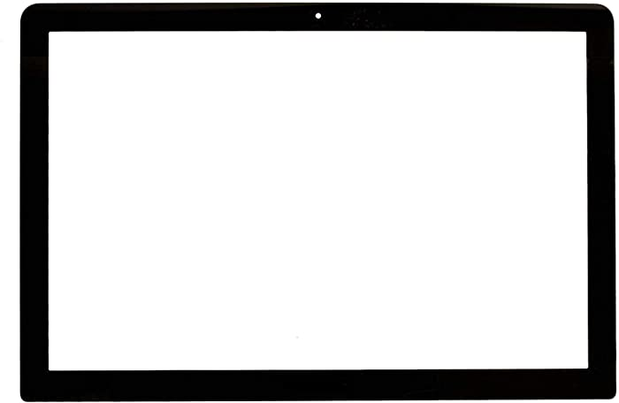 """Willhom Front LCD Glass Cover Sheet with Adhesive Strips Replacement for MacBook Pro 15"""" Unibody A1286 (Late 2008-Mid 2012)"""