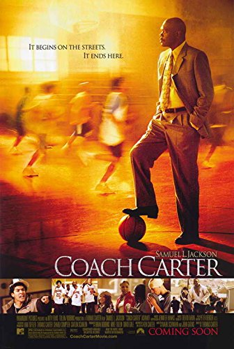 Carter Movie Poster - Coach Carter 11 x 17 Movie Poster - Style A