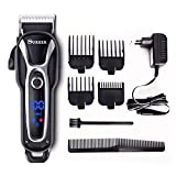 SURKER Hair Clipper Men's Electric Cordless Hair Trimmer Speed...