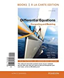 Differential Equations, David E. Penney and C. Henry Edwards, 0321816242