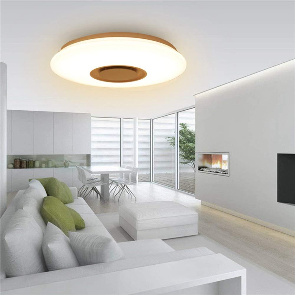 JCHUNL 24W LED Dimmable Blautooth-Lautsprecherlampe Deckenleuchte APP-Steuerung AC110-220V New Hot