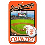 11X17 Country Plastic Street Sign MLB San Francisco Giants