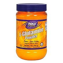 NOW Foods by Now: L-GLUTAMINE POWDER 100 % POWDER 1 LB