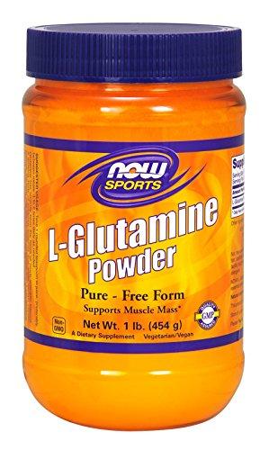 NOW  Sports L-Glutamine Powder, 1-Pound - Glutathione Powder