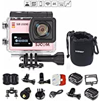 SJCAM SJ6 SJ6000 LEGEND 2″ LCD Touch Screen 2880×2160 4K Action Camera Novatek NT96660 Panasonic MN34120PA CMOS - Rose