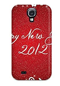 Hot JwVNtYp5015ZyJTz Happy New Year 2012 Tpu Case Cover Compatible With Galaxy S4