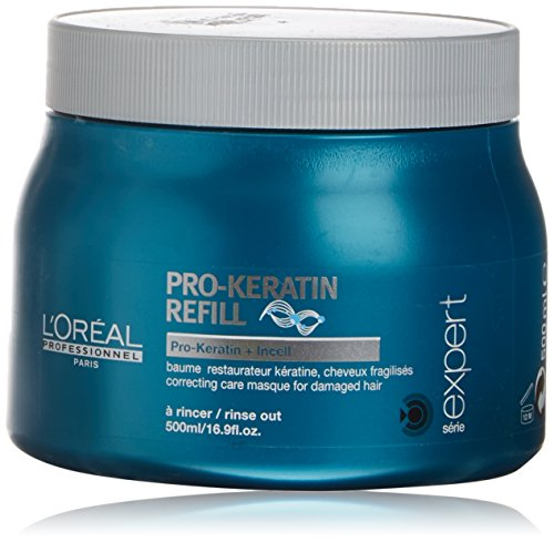 (Loreal Serie Expert Pro-Keratin Masque For Damaged Hair 16.9 oz)