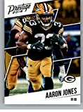 #6: 2018 Prestige NFL #140 Aaron Jones Green Bay Packers Panini Football Card