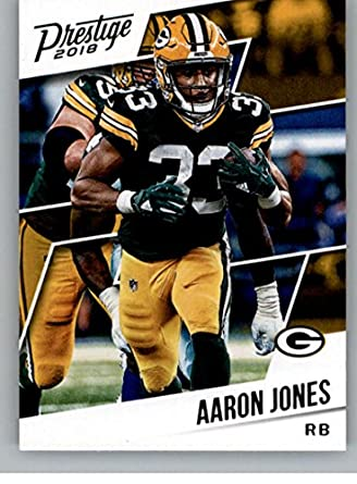 1693a94da Amazon.com  Football NFL 2018 Prestige  140 Aaron Jones Packers ...