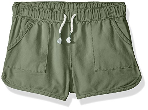 Osh Kosh Girls' Kids Pull-on Shorts, Acadia Green, ()