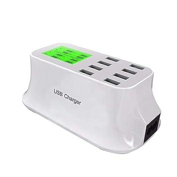 Demino 8 Puertos USB Cargador de Viaje Tableta del teléfono ...