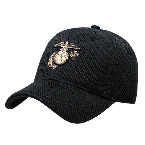 Rapid Dom Air Mesh US Military Branch Logo Baseball Caps S002 Marines -