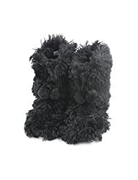 Home Slipper Women's Soft Fleece Plush Winter Warm Indoor House Slipper Boots