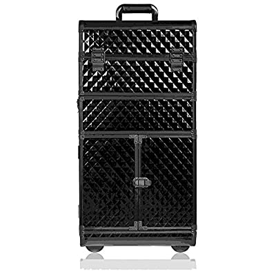 SHANY Rebel Series Pro Makeup Artists Rolling Train and Trolley Case