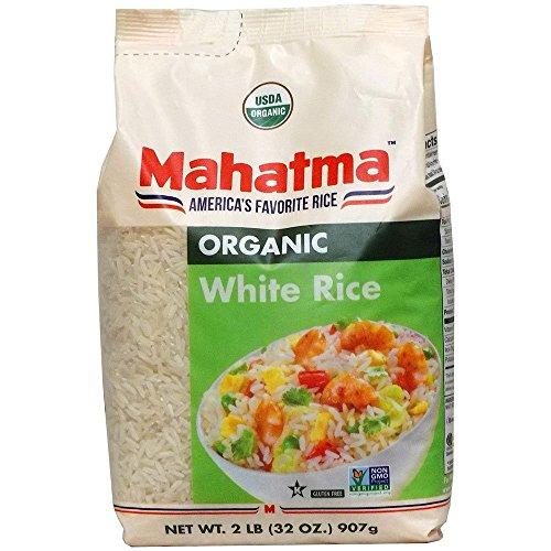Basmati Gluten Free Rice - Mahatma Organic White Rice, 2 lb.