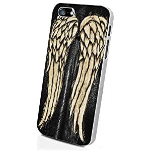The Wing of Walking Dead Custom Case for Iphone 5/5s/6/6 Plus (White iPhone 5/5s)