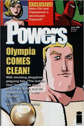 powers comics monthly june 2001