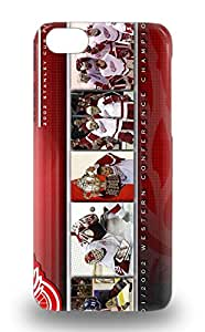 Premium NHL Detroit Red Wings Logo Heavy Duty Protection 3D PC Case For Iphone 5c ( Custom Picture iPhone 6, iPhone 6 PLUS, iPhone 5, iPhone 5S, iPhone 5C, iPhone 4, iPhone 4S,Galaxy S6,Galaxy S5,Galaxy S4,Galaxy S3,Note 3,iPad Mini-Mini 2,iPad Air )