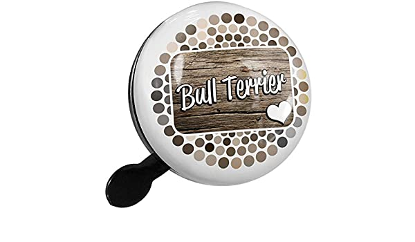 Amazon.com : NEONBLOND Bike Bell Bull Terrier, Dog Breed England Scooter or Bicycle Horn : Sports & Outdoors