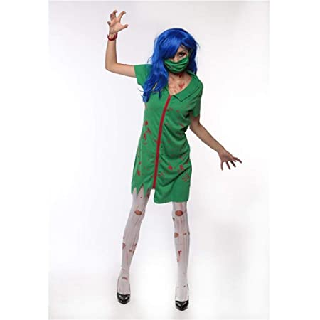 Yunfeng Halloween Bruja Disfraz para Mujer Horror de Halloween ...
