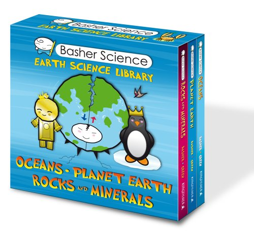 Basher Science: Earth Science Library (3-Copy Boxed Set))