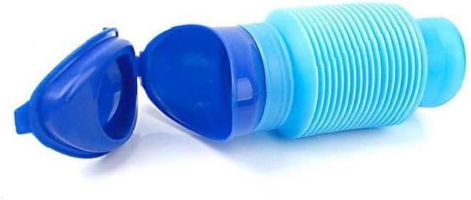 YZLSM Enfants Homme Flexible Herm/étique Toilette Portable Boy resuable hygi/énique Voyage urinoirs en Plastique Bleu