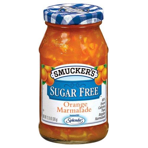 - Smucker's Sugar Free Orange Marmalade 12.75oz Jar (Pack of 3)