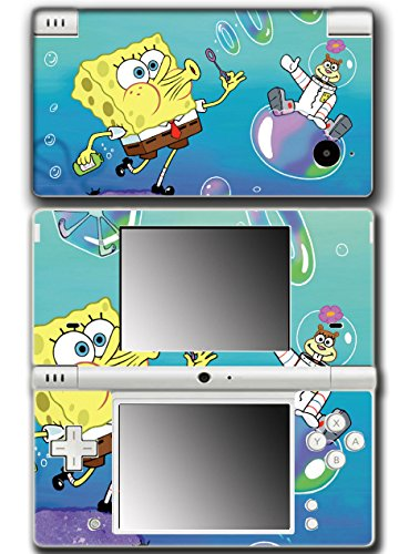 Spongebob Squarepants Sandy Cheeks Squirrel Bikini Bottom Video Game Vinyl Decal Skin Sticker Cover for Nintendo DSi System