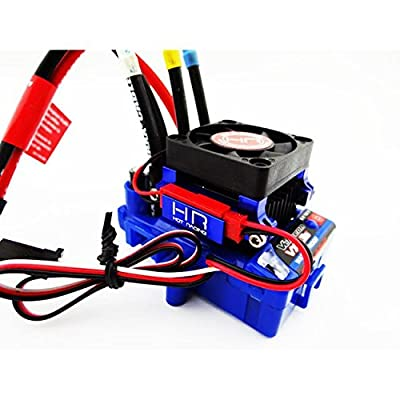 Hot Racing ESC303T06 Velineon Vxl-S3 Esc Aluminum Heat Sink High Velocity Fan: Toys & Games