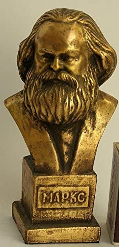 Lieder Communist Germany Karl Marx H=1 Lenin discount Metal Figurine Max 68% OFF Bust