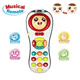 Toys 1 Year Olds Baby Boys, Remote Control Toys 12-24 Months Baby Girl Music Toy Gift for 6-18 Months Boys Toddler Toy Age 1 2 3 Girls Birthday Present for Baby