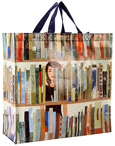 Book Bag Shopper Tote Bag 16 x 15in