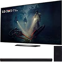 LG B7A Series 55 OLED 4K HDR Smart TV 2017 Model (OLED55B7A) LG 360W 4.1ch Music Flow Wi-Fi Sound Bar with Wireless Subwoofer