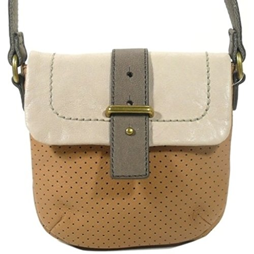 Original FOSSIL MASON Mini Camel Handbag for Women SL3182235