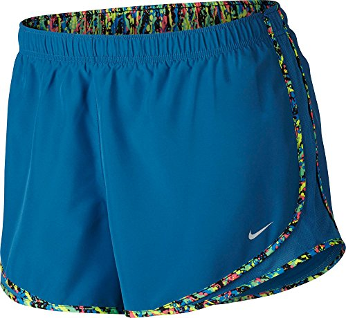 Nike Mujeres Tempo Short Indistrial Blue / Black