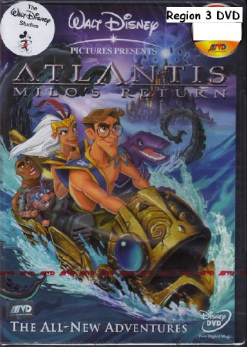 Atlantis: Milo's Return - Language : ENGLISH, THAI, MANDARIN, KOREAN